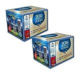 Panini Fifa World Cup 2018 - Sticker WM Russia 2018 - 2 Displays mit je 50 Tüten = 100 Tüten = 500 Sticker - Serie besteht aus 670 Bildern - Version NL, BE, LU und andere Länder
