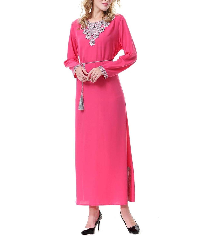 Beeatree 女性イスラムガウン中東カフタンジャカルブリラックスフィットドレス