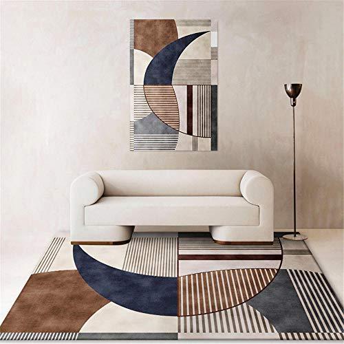 alfombras en rollo alfombras oficinas La alfombra marrón de la sala de estar es resistente al desgaste y se puede lavar a máquina sin deformarse. alfombra habitacion niña 200X300CM 6ft 6.7'X9ft 10.1'