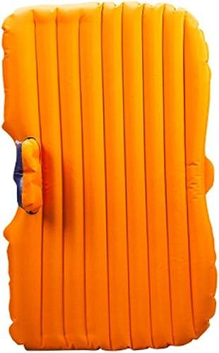 Matelas gonflable de siège arrière de voiture de camping de voyage de lit multifonctionnel d'air de voiture pour le repos de repos et de voyage (lit d'air × 1, pompe à air de voiture × 1, oreiller × 2