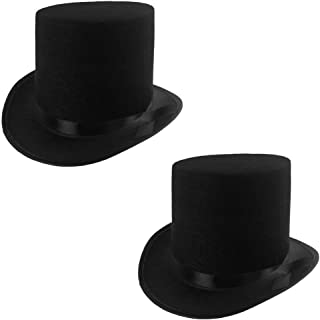 Rhode Island Novelty Deluxe Black Magician Butler Formal Costume Top Hat