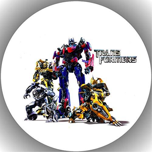 Fondant Tortenaufleger Tortenbild Geburtstag Transformers AMA7