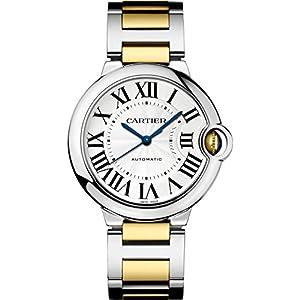 Cartier Ballon Bleu Unisex Steel and Gold Watch W6920047 image