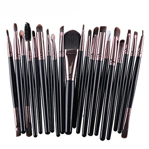 Make-up Pinsel,Binggong 20 stücke Make-Up Pinsel Set Werkzeuge Make-up Kulturbeutel Wolle Make-Up...