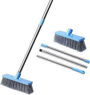 HUYIJJH Floor Scrub Brush with Long Handle-52.8