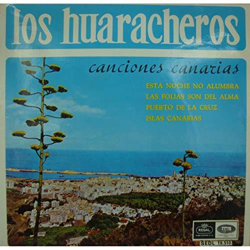 LOS HUARACHEROS canciones canarias - esta noche no alumbra EP Regal