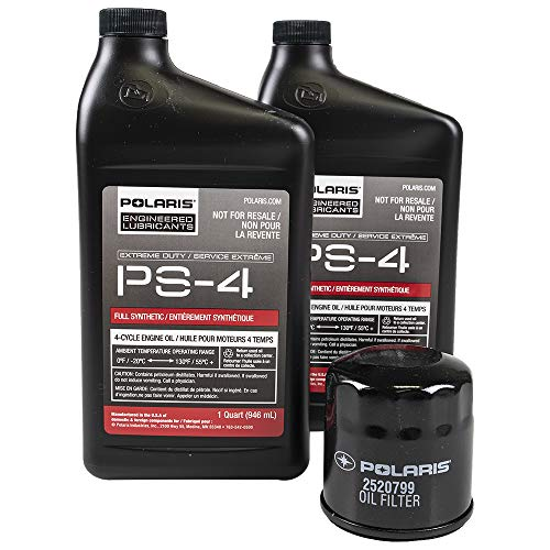 PURE POLARIS Extreme Duty Oil Change Kit - 2878924