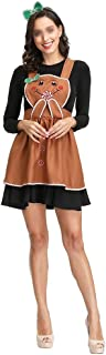 New Dirndl German Beer Maid Costumes Women Oktoberfest Carnival Fancy Dress Up Role-Playing Uniforms Pancake Cake Division (Color : Brown, Size : XL)