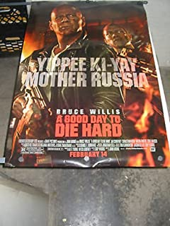 A GOOD DAY TO DIE HARD /ORIG. U.S ONE SHEET MOVIE POSTER (BRUCE WILLIS )DS