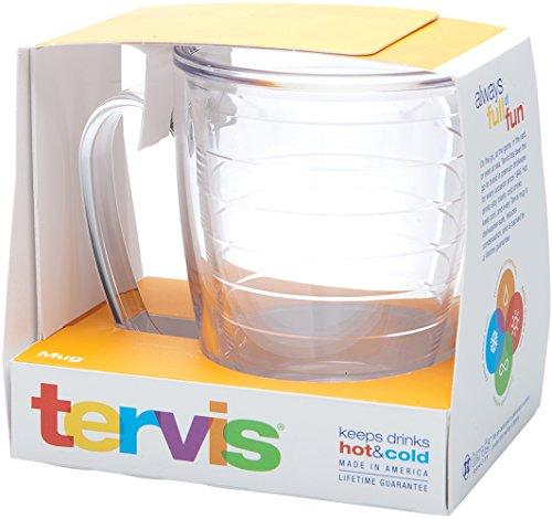 Tervis Clear 16-Ounce Mug, Boxed - 1051269