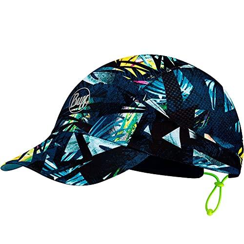 Buff IPE Gorra Reflectante Pack Run Cap, Negro, L/XL para Mujer