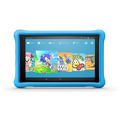 "Amazon Fire for Kids Kid-Proof Case for Fire HD 10 (10"" Tablet, 7th Generation - 2017 release), Blue"