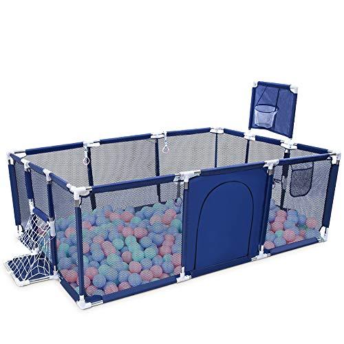 Orzbow Parque Infantil Bebés, Plegable Valla de Juegos para