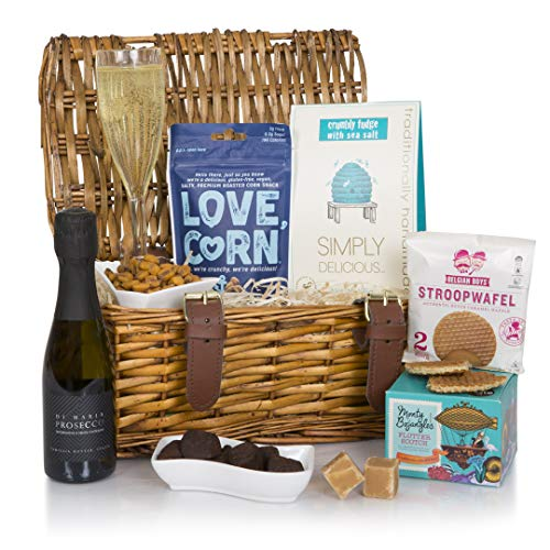 The Prosecco Treats Hamper - Prosecco Hampers - Birthday & Thank You Gift Hamper For Any Prosecco Lover
