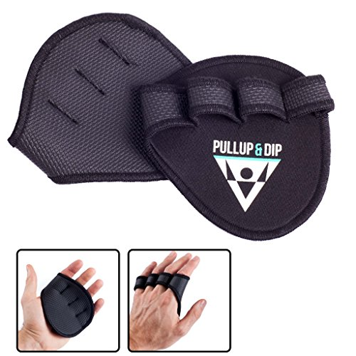 PULLUP & DIP Grip Pads Pour Pull-Ups Fitness...