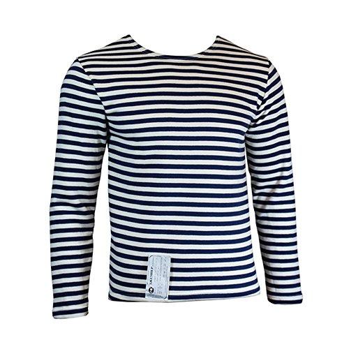 Russian Soviet Navy Telnyashka Marine Sailor 100/% Cotton T Shirt Sleeve Striped