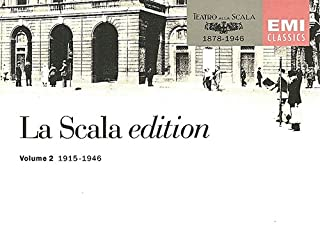 La Scala Edition Volume 2 1915-1946 Opera collection from early singers at La Scala Opera House -