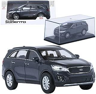 TreForze 1:38 KIA ALL NEW SORENTO Platinum Graphite Display Mini Car