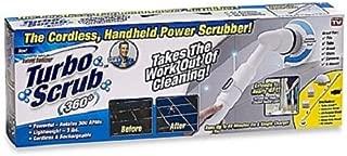 Turbo Scrub Ontel 360 Cordless Power Scrubber, One Size, White