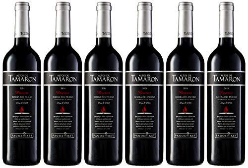Altos De Tamaron Reserva Tinto D.O. Rib. Duero Vino - Paquete de 6 x 750 ml - Total: 4500 ml