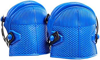 AmazonCommercial Non-Marring Rubber Cap Knee Pads