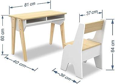 Skanor Children's Desk with Contemporary Chair