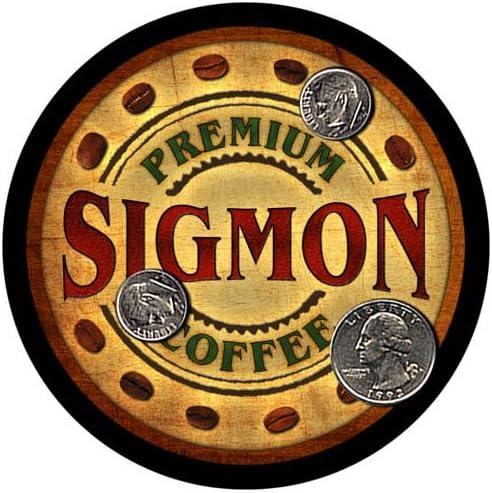 Sigmon Coffee Max 89% OFF Custom New life Neoprene Rubber 4 Drink pcs Coasters -