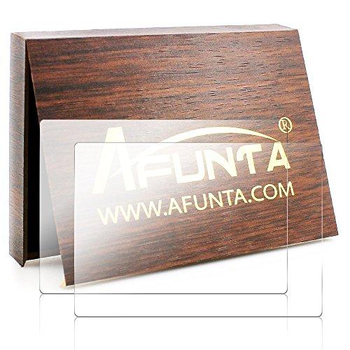 Pellicola Protettiva per Fujifilm X-T1 X-T2, AFUNTA 2 Pezzi Anti-graffio Vetro Temperato Proteggi Schermo per Fotocamera Fuji XT1 XT2