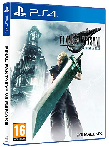 Final Fantasy VII Remake + Tema dinámico PS4 Sephirot(Edición Exclusiva Amazon)