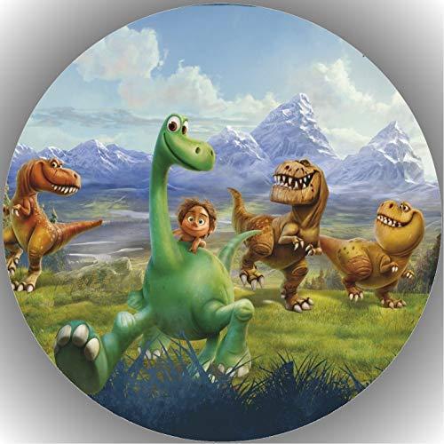 Fondant Tortenaufleger Tortenbild Geburtstag The Good Dinosaurier AMA2
