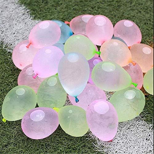 QIUQIU Globos 9 Pulgadas de inyección de Agua de Waterpolo pequeñas de Agua 仗 Juguetes for el Agua Juegos Infantiles Globo 500pcs Bola de Agua rápida