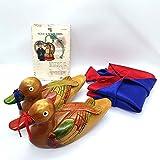 NDM Wooden Mandarin Duck 6.7' 원앙 Korean...