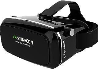 T-product(ティープロダクト) VR ゴーグル VR ヘッドセット 3D [日本正規品] VRメガネ 3Dゴーグル スマホ VR シネコン 3D映像体験 バーチャル リアリティ [12ヶ月メーカー保証]