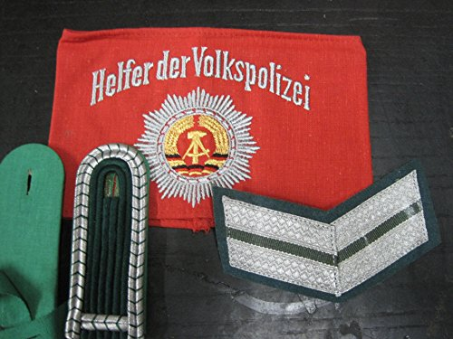 Armbinde Helfer der Volkspolizei Effekten Polizei DDR NVA Ostalgie