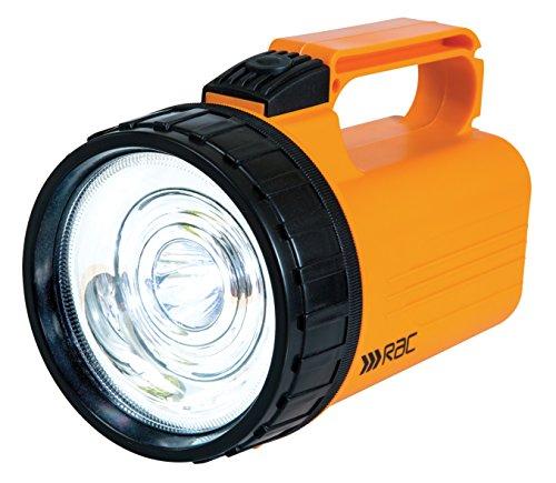 RAC Hochleistungs-Handscheinwerfer / Taschenlampe mit 13 LEDs