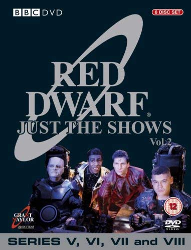 Red Dwarf 4 years warranty - Just The Shows : 5-8 Complete Disc favorite BBC 6 Series Box