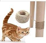 DAYUMAOJIN Katzenkratzspielzeug Ball selbstgemachte DIY Material Scratch Line, Möbel...