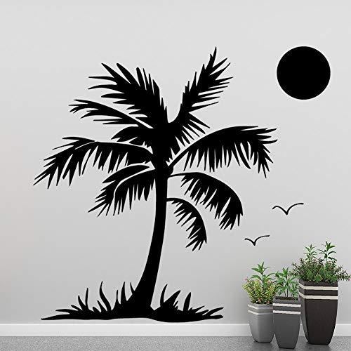 BailongXiao Elegante Etiqueta de la Pared del árbol de Coco decoración de la Sala decoración del hogar calcomanía de Pared decoración de la habitación