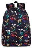 Toddler Kids Backpack for Boys Girls Dinosaur Preschool Kindergarten School Backpack Bookbag School Bag with Chest Strap(Black Dinosaur)