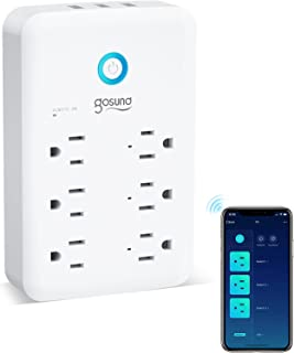 Smart Plug, Surge Protector Power Strip, Multi WiFi Outlet Extender Works with Alexa, Google Home, Smart Outlet with 3 USB...
