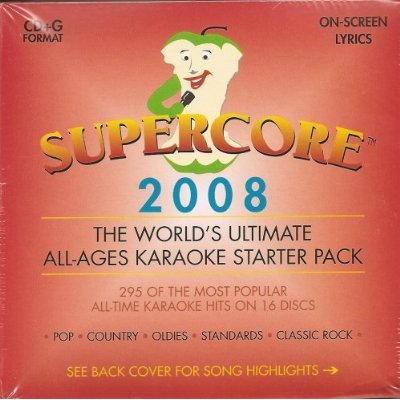 Super Core Karaoke 16 Disk Set 295 Songs