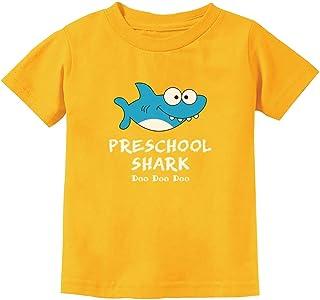 Preschool Shark Doo Doo Back to School Funny Toddler Kids T-Shirt