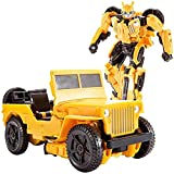 BSTCAR Transformers Figuras de Acción Juego Figura de Acción Transformers Bumblebee Figura Vehículo Robot Deformado Juguetes Regalo para Niños Niños
