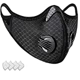 Face Mask Mesh with Activated Carbon Filters Dust Mask Authentic for Woodworking Construction Outdoors Indoors Travel - Valo Products