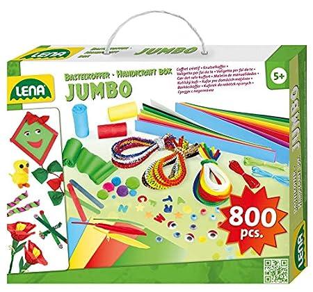 Lena Jumbo Bastelkoffer mit vielfältigem Material