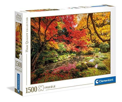 Clementoni- Autumn Park-1500 pièces-Puzzle Adulte-fabriqué en Italie, 31820