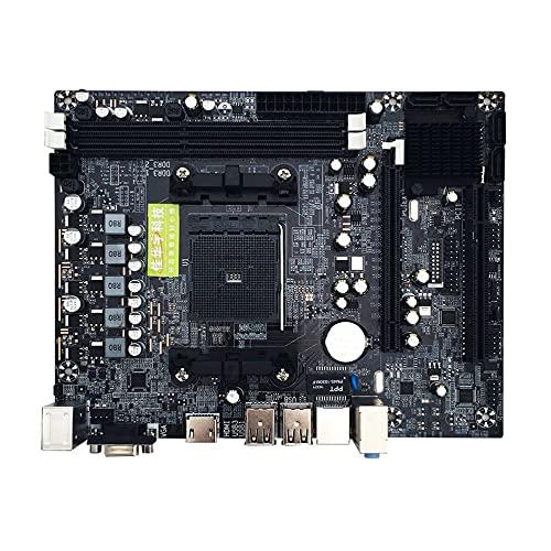 LeftSuper Placa Base A88M2 A10 Placa Base A58 Pci-E 2Xddr3 4Xsata2.0 Interfaz para Placa Base AMD