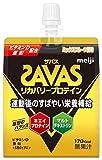 明治 ザバス(SAVAS) リカバリープロテインゼリー ミックスフルーツ風味 180g×6個
