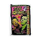 BGRGU Punk Poster Vintage Musik Poster Sex Pistols Poster