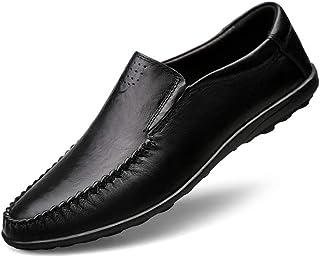 カジュアルシューズ メンズ ビジネスシューズ 本革 ローファー 紳士靴 革靴 スリップオン ウォーキング 通気性 ドライビングシューズ パンチング メンズ カジュアルシューズ ローファー スリッポン モカシン 軽量